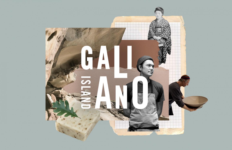 Collage of Galiano Island